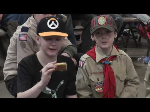 Cub Scouts hold Pinewood Derby at Hutch Chevy