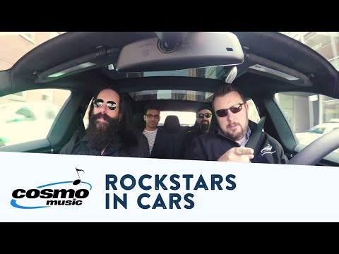John Petrucci compares the Tesla Model S to the NOMACs from 'The Astonishing' - Cosmo Music