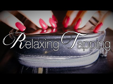 Relaxing Close Up Tapping Sounds | ASMR | Sticky Fingers - Plastic - Leather