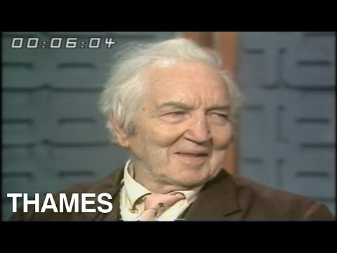 Poet - Robert Graves - Interview -1975
