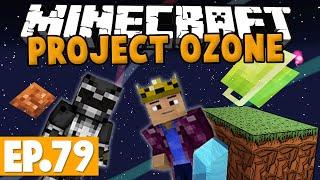 Minecraft Project Ozone - CHEMICAL THROWER & RAILGUN! #79 [Modded HQM Skyblock]