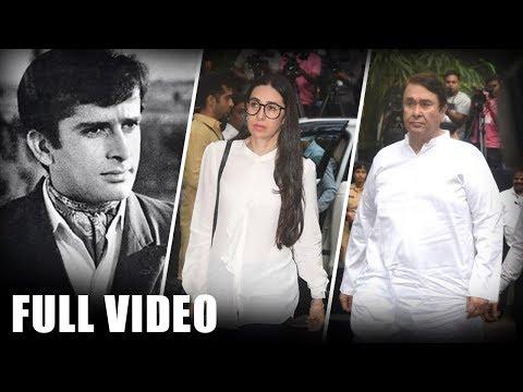 Full Video | Shashi Kapoor's Prayer Meet | Karishma Kapoor | Randhir Kapoor | UNCUT