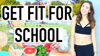 5 Ways To Get Fit For Back To School! Hacks and Tips To Be Healthy!