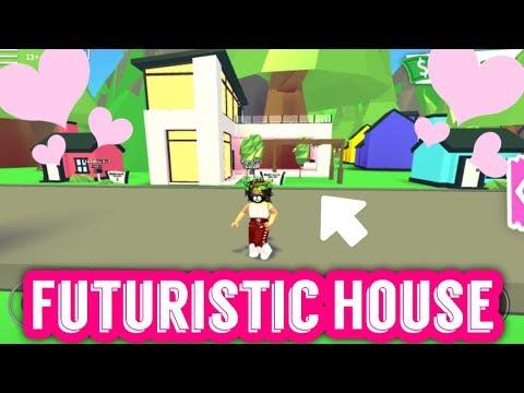 Roblox Adopt Me Futuristic House Inside