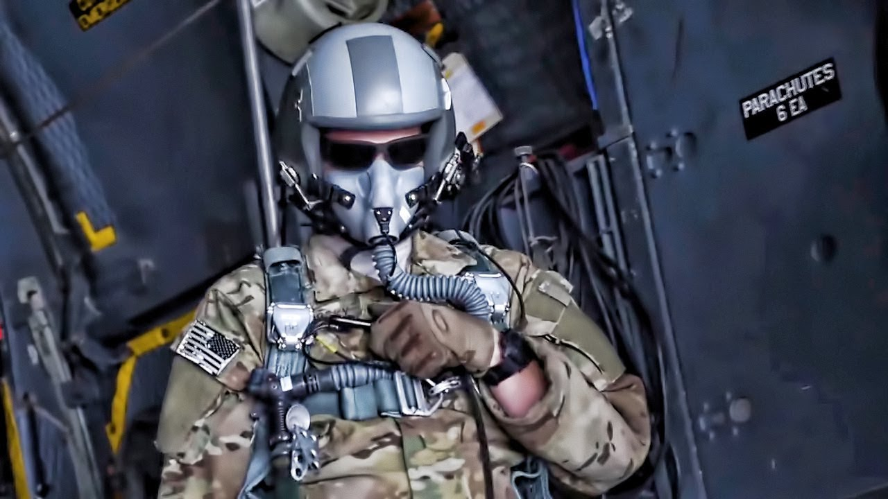 U.S. Air Force Special Tactics Airmen • Military HALO Jump