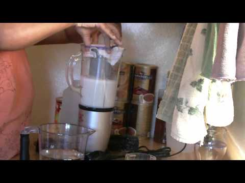 HEMP MILK IN MAGIC BULLET BLENDER-1/1