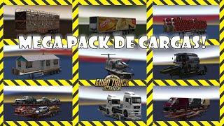 ETS 2 com mods - Mega Pack de cargas, reboques e empresas!
