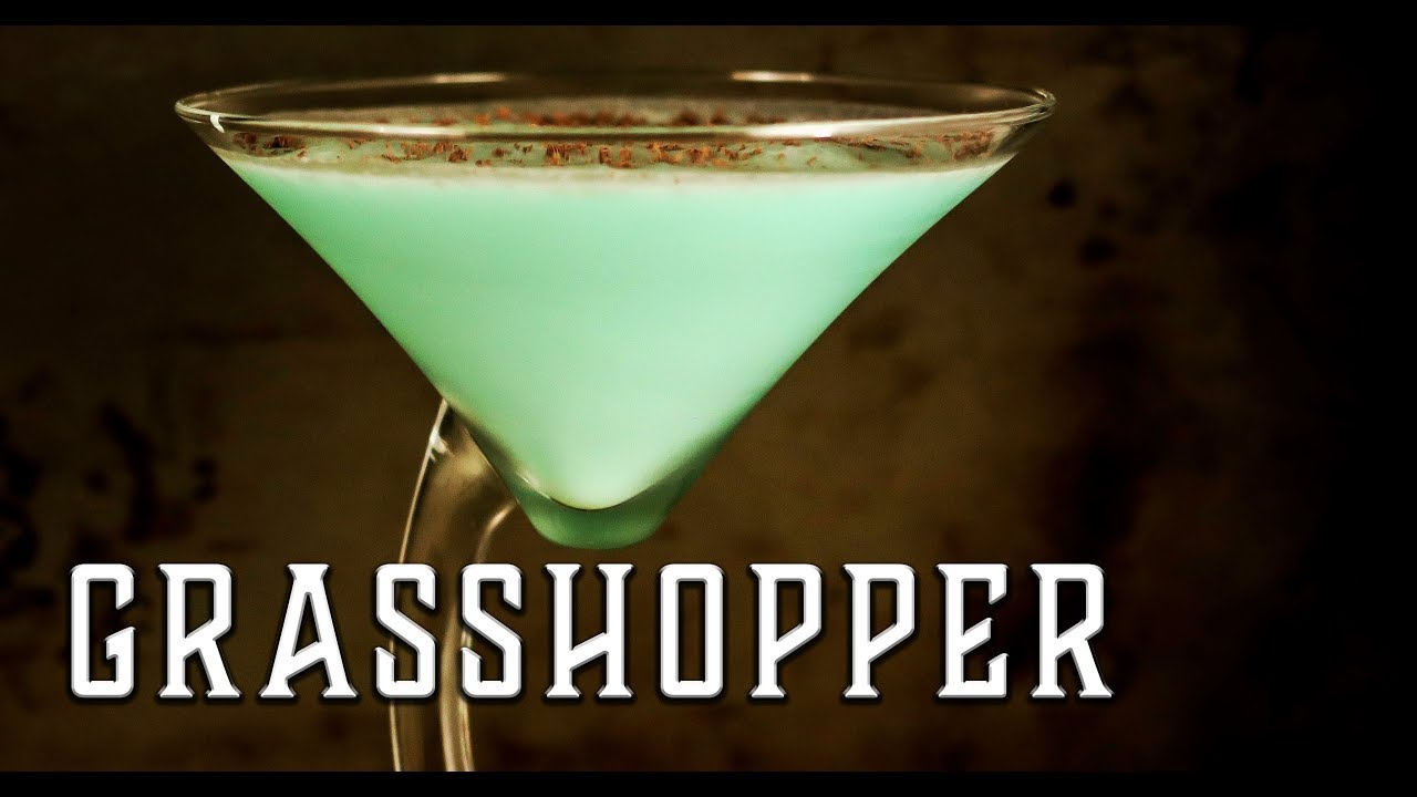 Grasshopper Cocktail Booze On The Rocks Youtube