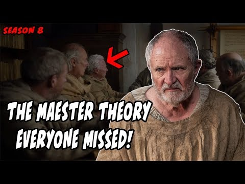 The Grand Maester Theory Game Of Thrones Season 8