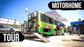 Transformación bus a motorhome | Mercedes Benz OF 1318 51 a casa rodante | San Fernando  Chile