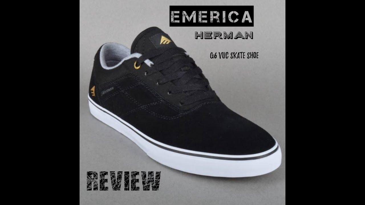 emerica Herman g6 vulc skate shoes Review