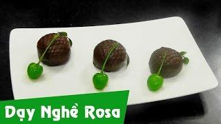 Bánh Trái Vải chocolate ngọt ngào