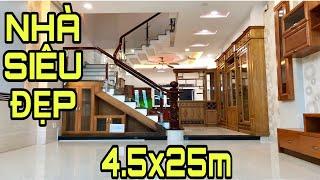 Bán nhà Gò Vấp | Nhà bán có diện tích khủng nhất quận Gò Vấp hiện nay 4.5x25m