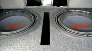 Bass I Love You. Alpine Type R 15's