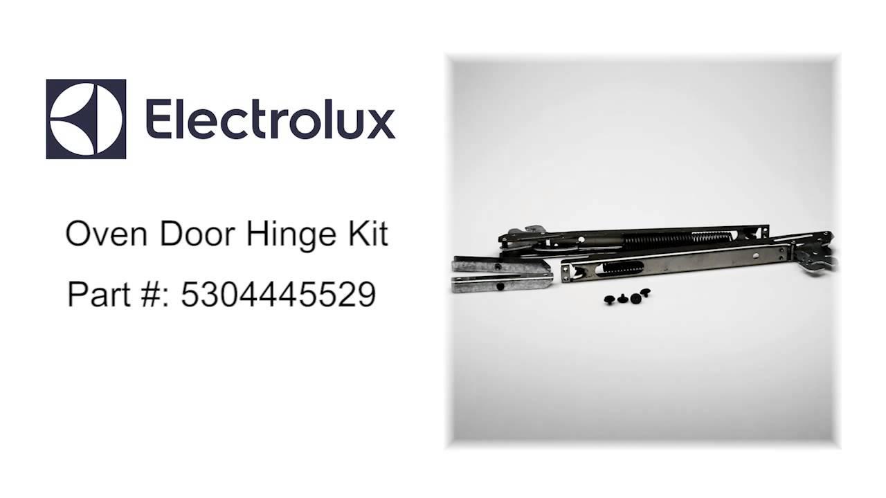 Electrolux Oven Door Hinge Kit Part 5304445529 Youtube