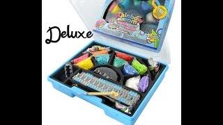 распаковка Rainbow Loom Deluxe -набор для браслетов и украшений