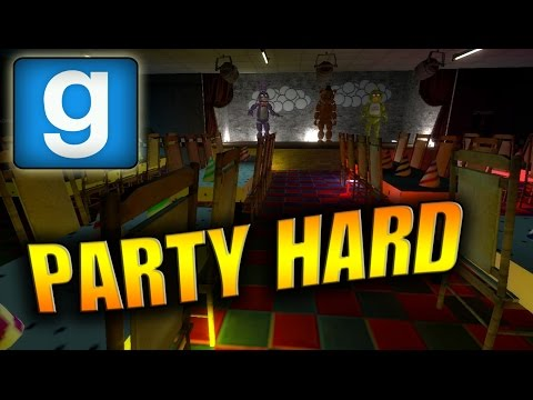 Gmod Sandbox   FNAF MAP: PARTY HARD! (Garry´s Mod Funny Moments Deutsch/German) thumbnail
