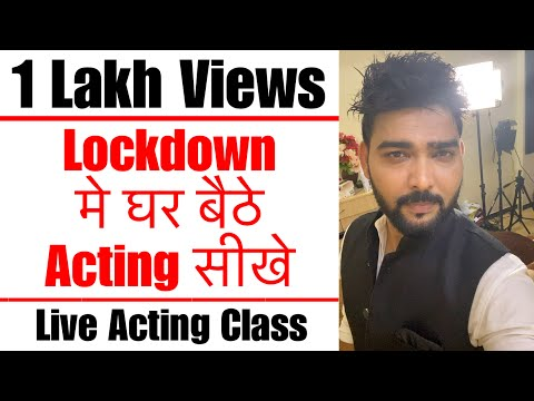 Live Acting Class | Scene Work | Rehearsal | Lets Act Actor