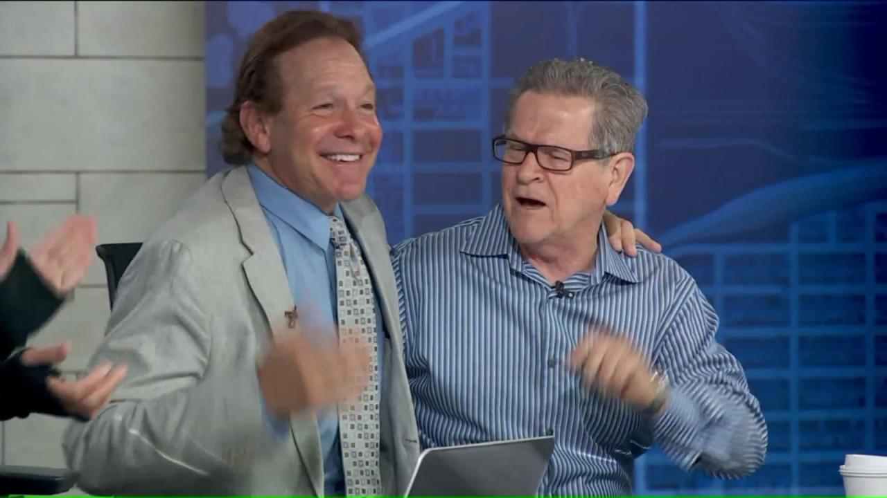 Download Police Academy reunion! Steve Guttenberg surprised by co-star Tim Kazurinsky live on TV