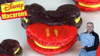 Disney Macarons  Mickey Mouse Macarons