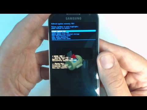 Samsung Galaxy S4 mini I9195 hard reset