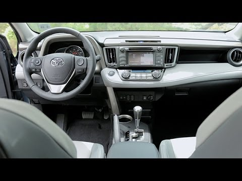 2014 toyota rav4 interior review youtube