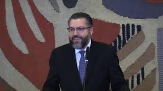 Discurso de posse do embaixador Ernesto Araújo, ministro de estado das Relações Exteriores