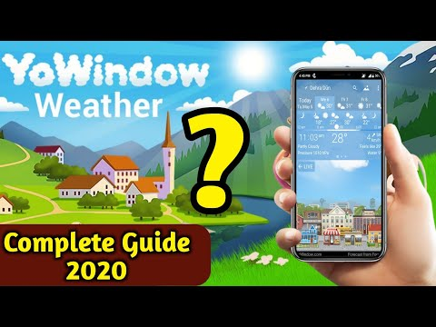 Best Weather App In 2020 | YoWindow Weather App Complete Review | Free [Weather Apps] For Android |