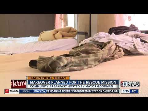 Las Vegas Rescue Mission needs TLC