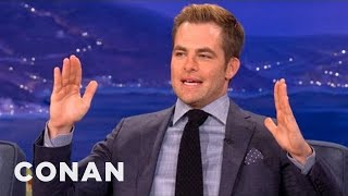 Trekkies Think Chris Pine's Captain Kirk Is Just... Fine - CONAN on TBS