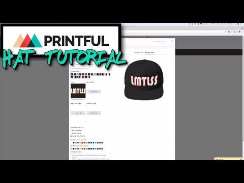 Printful Hat Tutorial (Step-By-Step Guide)