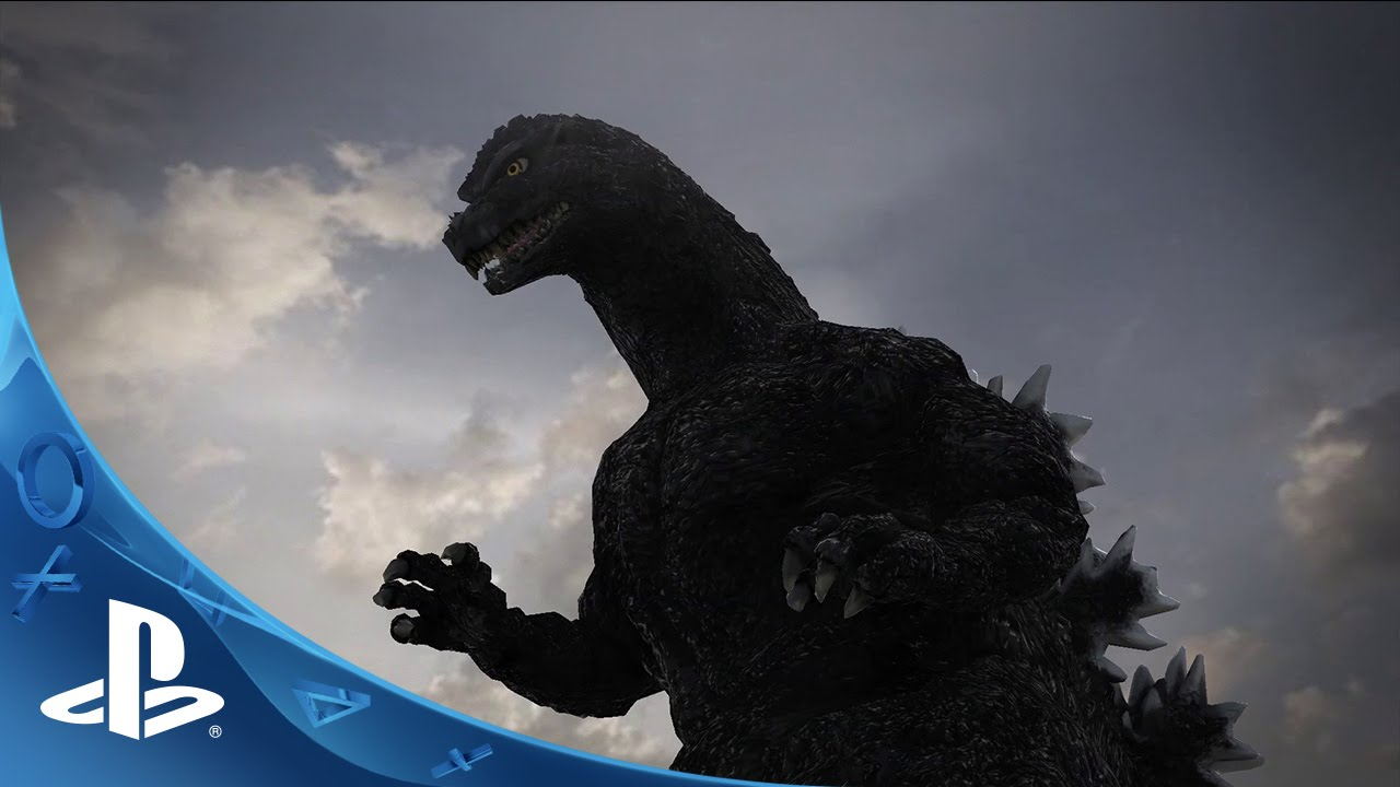 Godzilla Gameplay Trailer Ps4 Ps3 Youtube