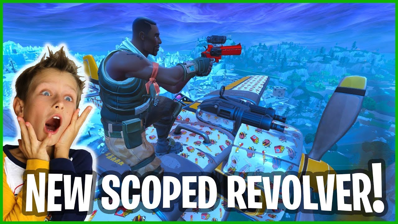 New Scoped Revolver Gameplay Youtube