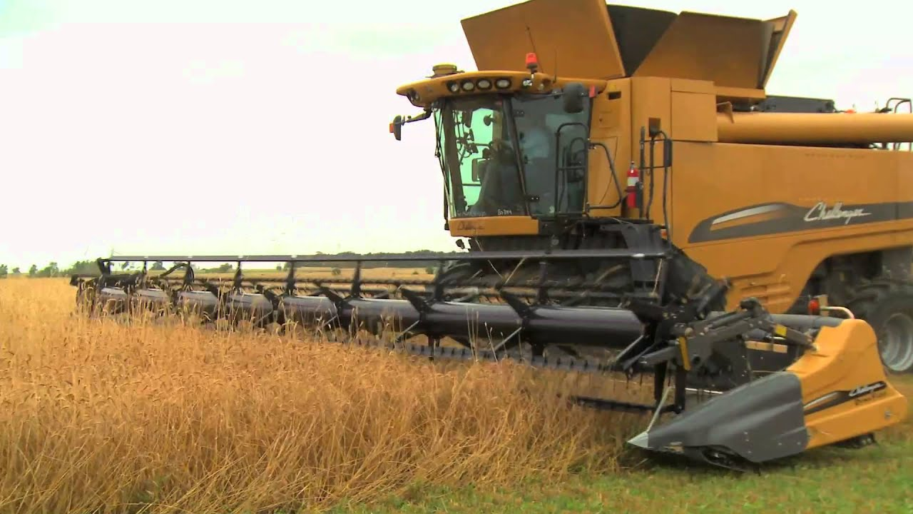 What Is A Lease >> Challenger Combine Baler Introductory Video - YouTube