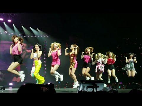 190717 Like Ooh Aah @ Twice Twicelights World Tour in LA Live Concert Fancam