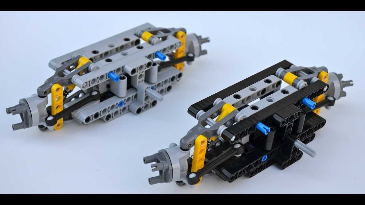 lego technic ultra compact front axle w instructions youtube. Black Bedroom Furniture Sets. Home Design Ideas