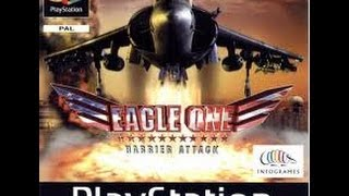 Ps1 Game: Eagle One Harrier Attack P1