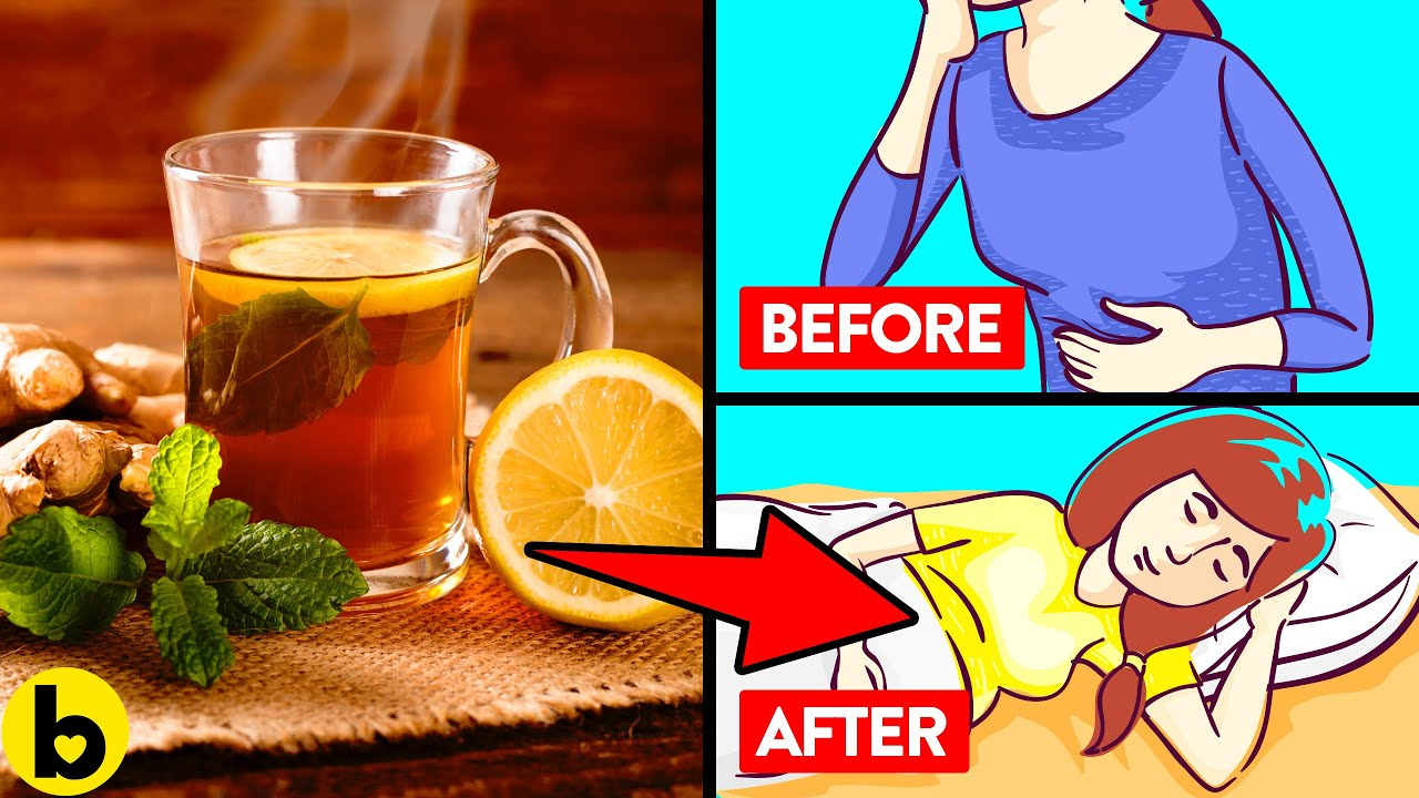 9 Teas that will make your Stomach feel Better