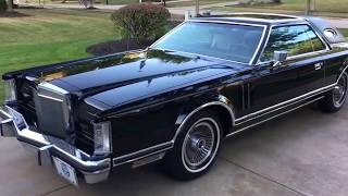 1979 Lincoln Continental Mark V - 13K Original Miles - For sale at www.bluelineclassics.com