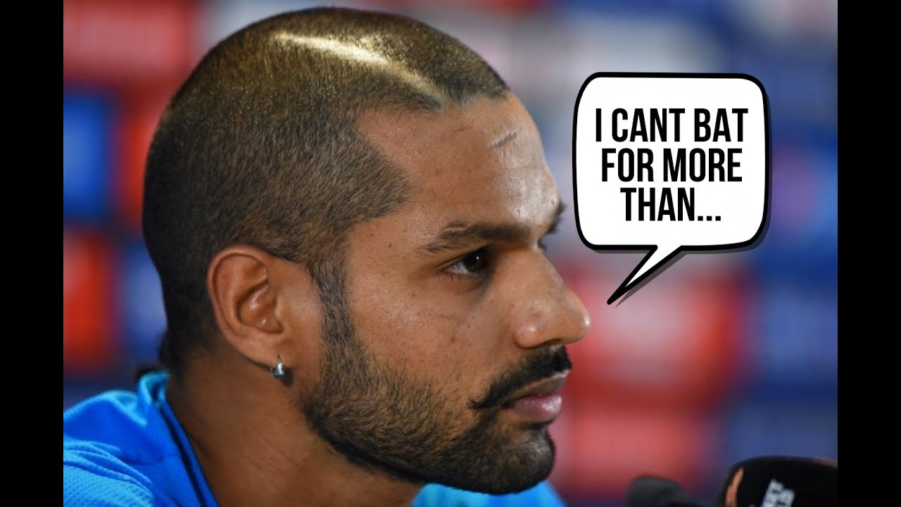 shikhar dhawan trolled on the back of his terrible form - youtube