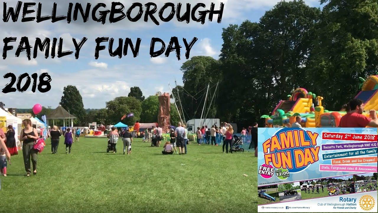 Wellingborough Family Fun Day 2018 Pitsford Water Vlog