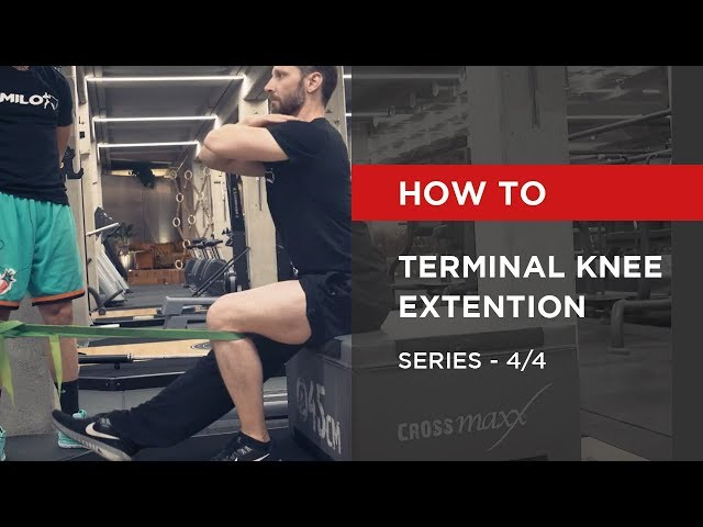 SERIES: Terminal Knee Extention [4/4]