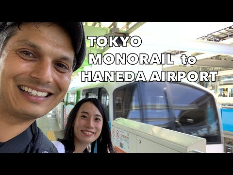 Tokyo Monorail to Haneda Airport Experience