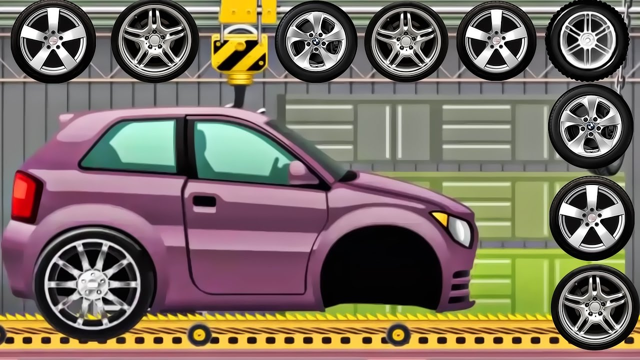 car for children build car car factory transport for kids dream cars factory android games
