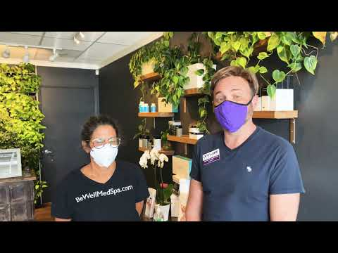 Dr. Steven chats with Michal Kitai, ARNP of BeWell MedSpa and gets a short tour.