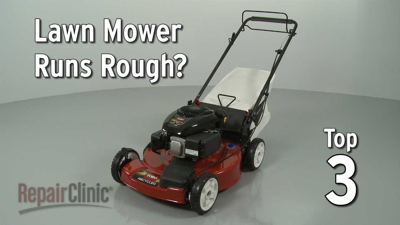 Top Reasons Lawn Mower Runs Rough Troubleshooting Youtube Mtd Snowblower Parts Diagram Additionally Carburetor