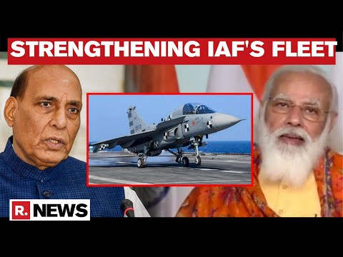 Defence Minister Rajnath Singh Lauds Rs 48,000 Cr Deal To Buy 83 Tejas Fighters For IAF thumbnail