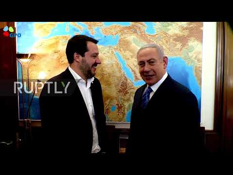 Israel: 'This is the Middle East' - Warm welcome for Italy's Salvini by Netanyahu in Jerusalem