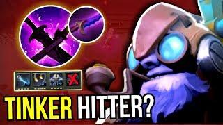 NO REALM?! - Tinker No Ultimate Carry Build NEW META 7.10 Dota 2   Upside Down 66