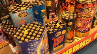 4th july FIREWORKS from sam's club (superpower) enjoy the show